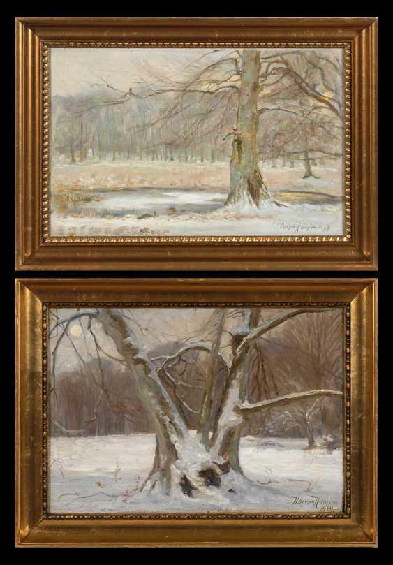 Dorph-Hansen, K.: Two Winter Pictures. - photo 1