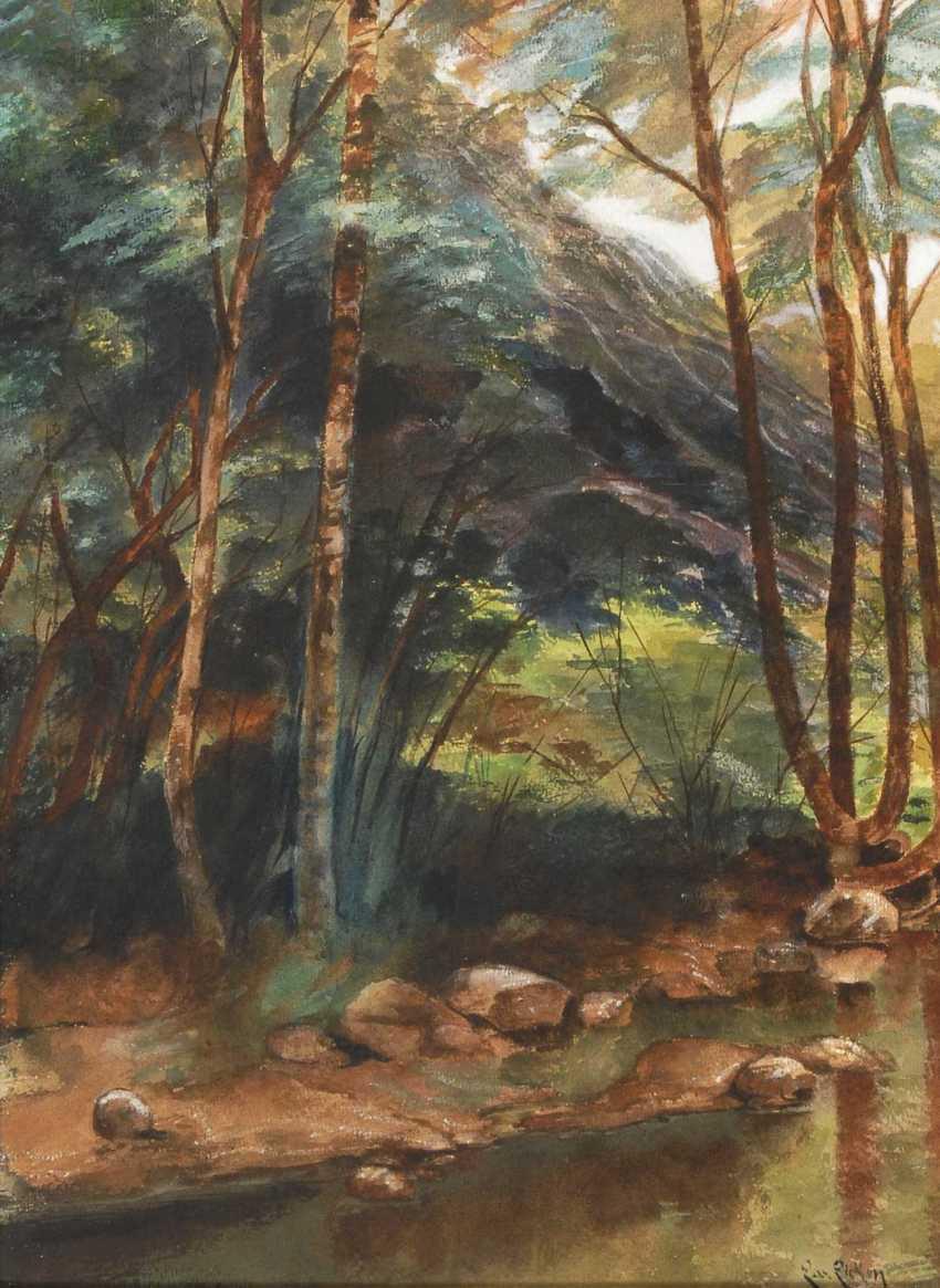 Eicken, Elisabeth von: Am Waldsee. - photo 1