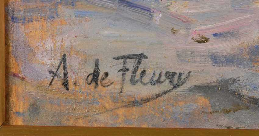 Fleury, A. de: the beach with Luftballo - photo 4