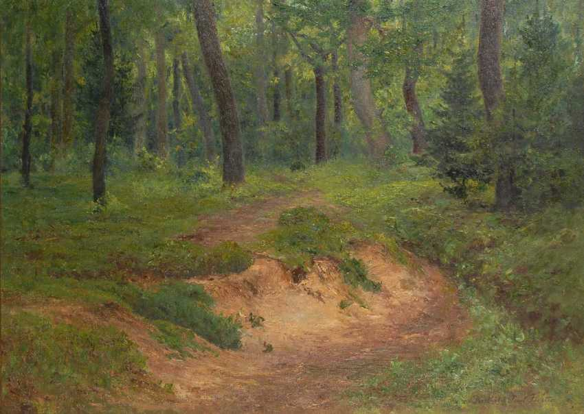 """Forester, Berthold Paul: """"Forest Road"""". - photo 1"""