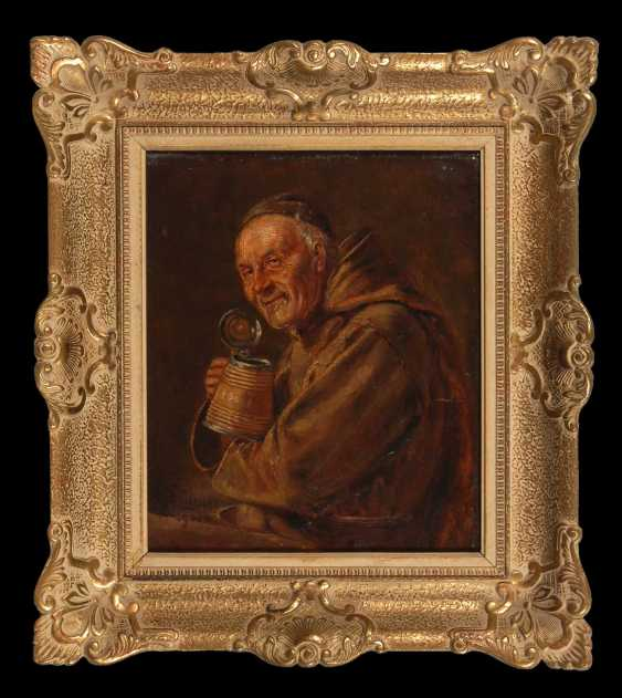 Grützner, Eduard von: Drinking monk. - photo 3