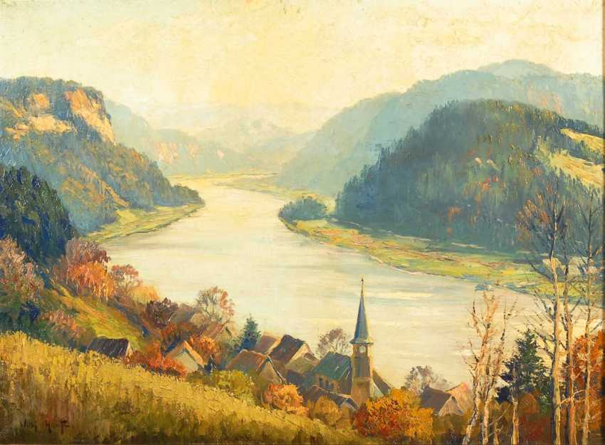"Hanft, Willy: ""Wehlen in the Elbe valley"". - photo 1"