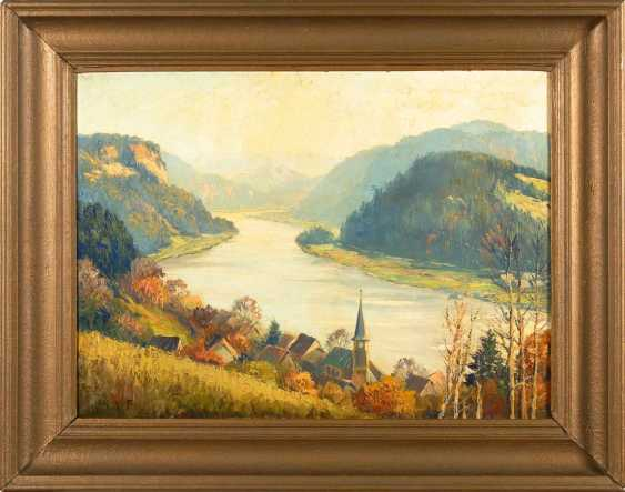 "Hanft, Willy: ""Wehlen in the Elbe valley"". - photo 2"