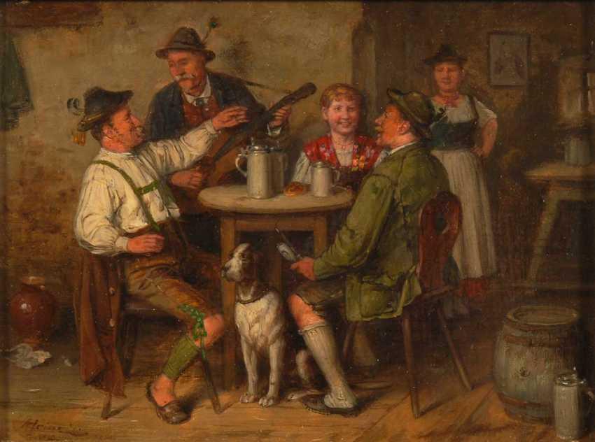 Heine, Johann Adalbert: Two Genre Scene - photo 3
