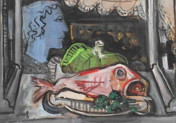 Hesterberg, Hesto: still life with fish - photo 1
