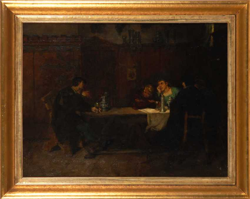 Historical genre scene with Drinking. - photo 2