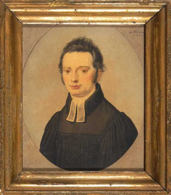 Hoecker, AdalberTiefe: Porträt eines Geistl - photo 2
