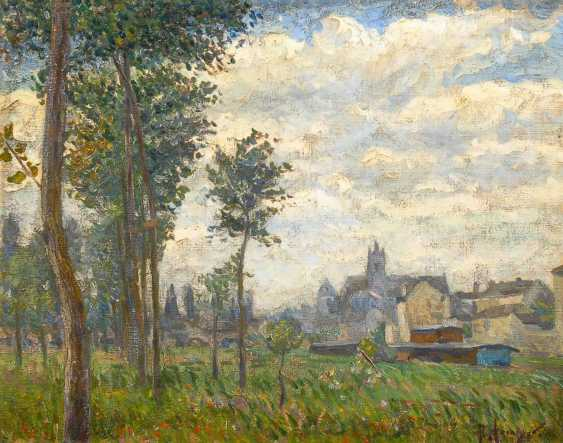 """Hoeniger, Paul: """"spring day in Moret"""" - photo 1"""