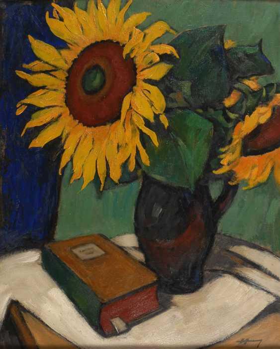 Hoffmann, Georg: Sunflower. - photo 1