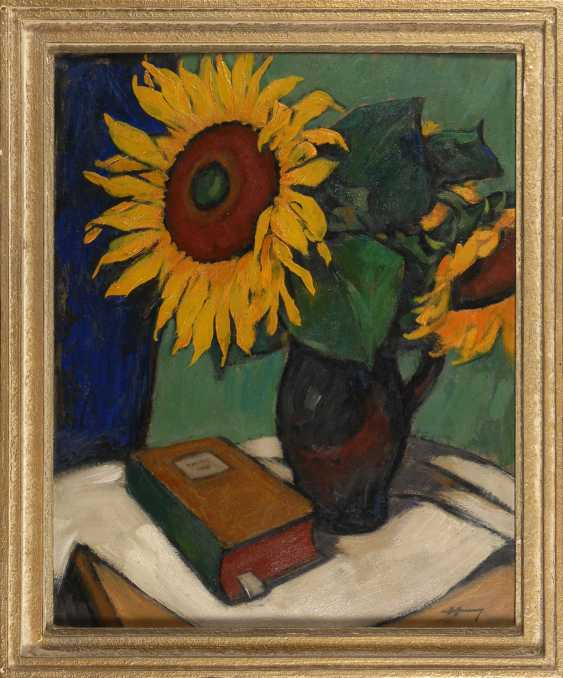 Hoffmann, Georg: Sunflower. - photo 2