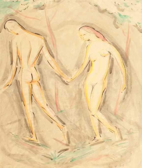 Hofmann, Ludwig von: Adam and eve. - photo 1