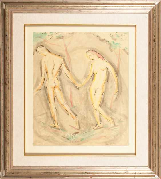 Hofmann, Ludwig von: Adam and eve. - photo 3