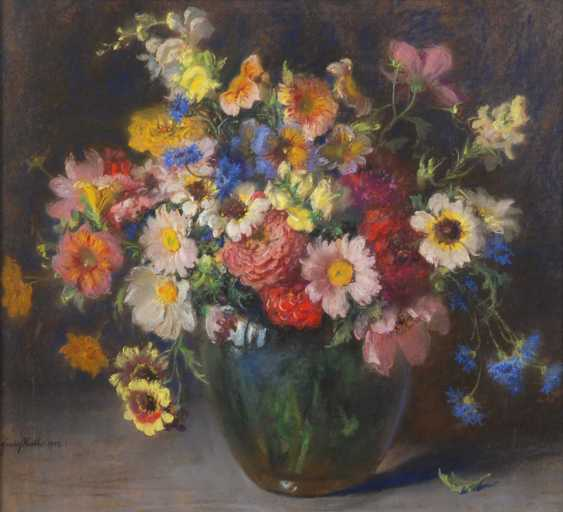 Huth, Franz: Still Life With Flowers. - photo 2