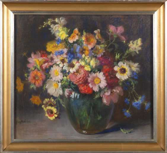 Huth, Franz: Still Life With Flowers. - photo 4