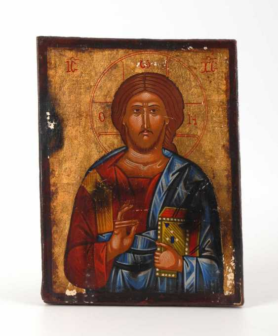 Icon with Christ. - photo 1