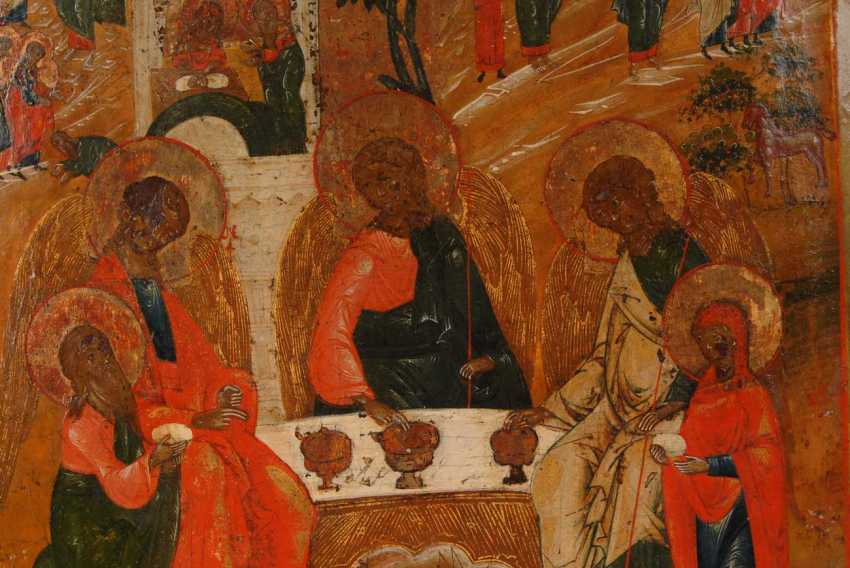 Icon with the old Testament Dreifa - photo 2