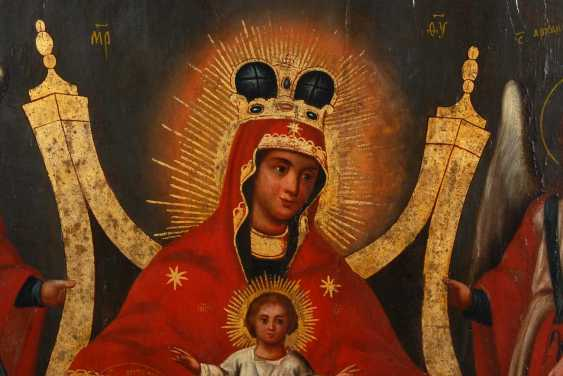Icon with mother of God of Kiev-Pechersk - photo 2