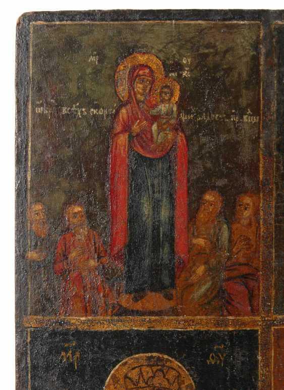 Icon with Maria. - photo 2