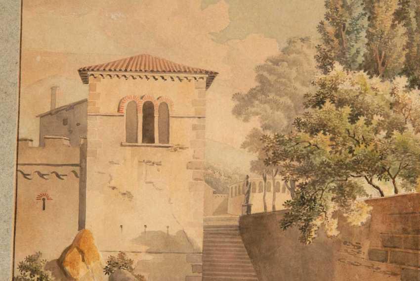Italian landscape to 1800. - photo 2