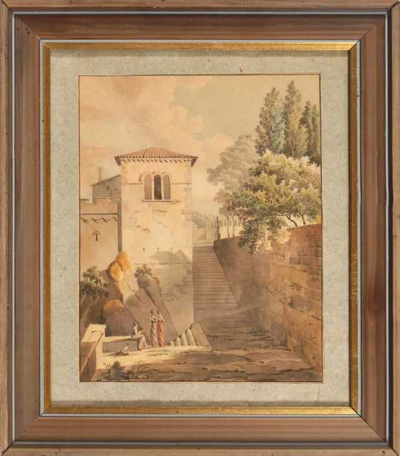 Italian landscape to 1800. - photo 3