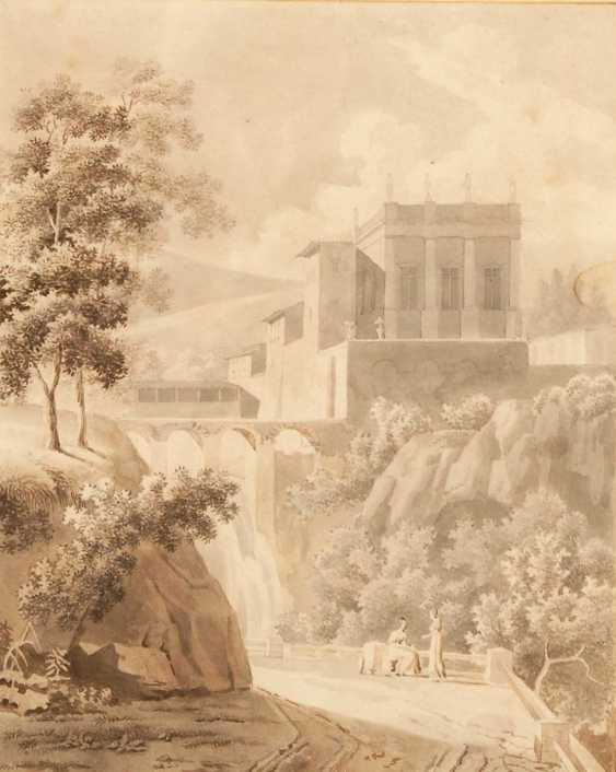 Italian landscape to 1800. - photo 1