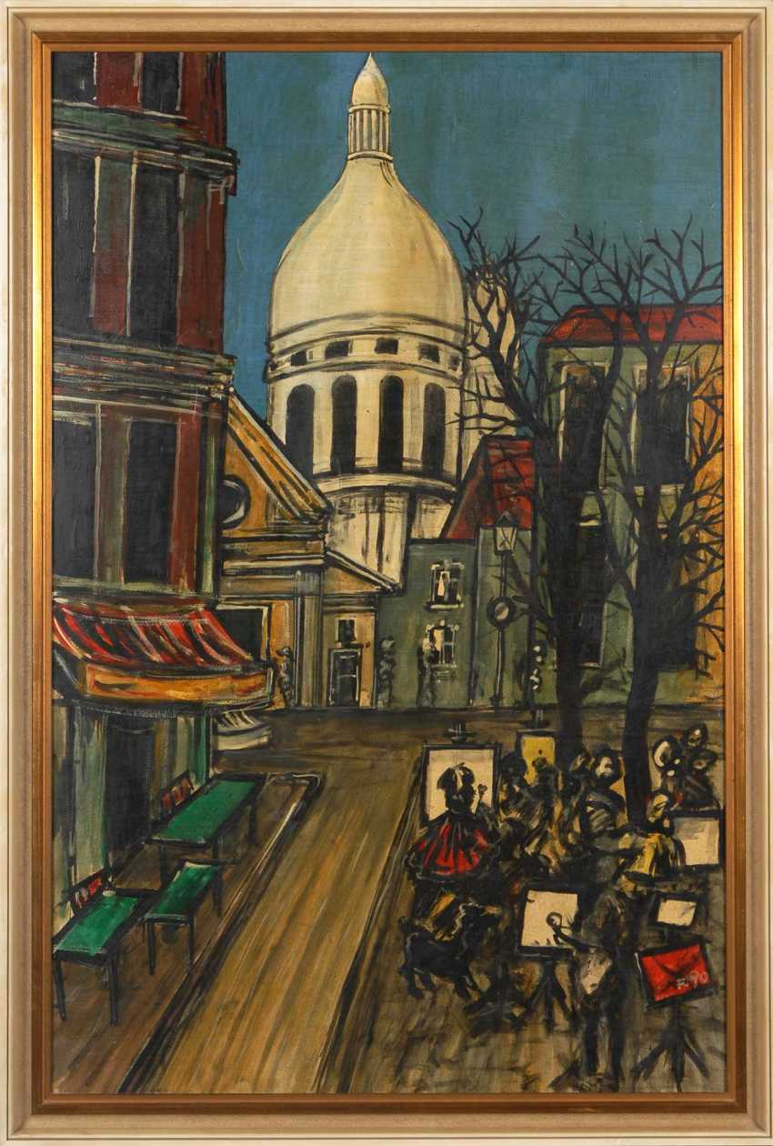 Jean Luc: Montmartre - the painter on the St - photo 2