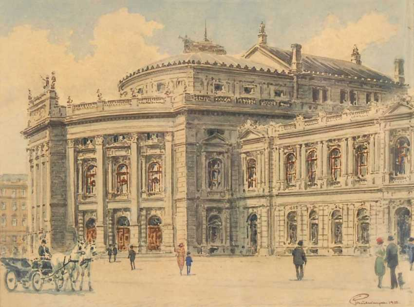 Kaspar, Paul: Vienna - The Burgtheater. - photo 1