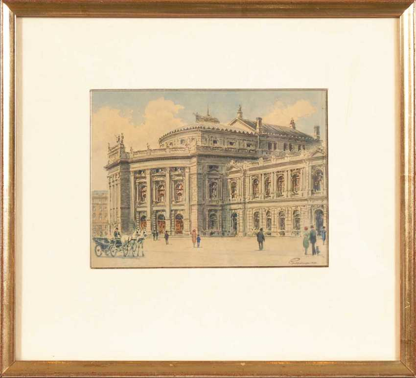 Kaspar, Paul: Vienna - The Burgtheater. - photo 2