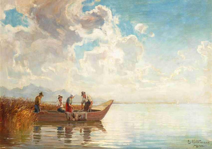 """Kettemann, Erwin: """"Chiemsee Landscape"""". - photo 1"""