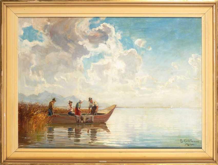 """Kettemann, Erwin: """"Chiemsee Landscape"""". - photo 2"""