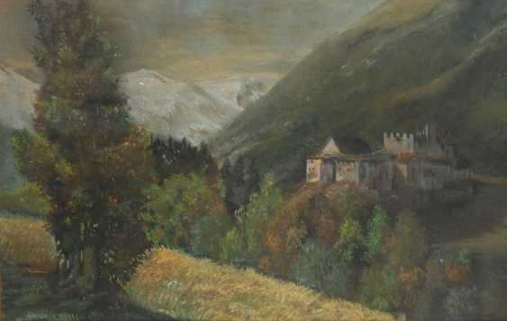 Klemm, Walther: castle in the mountains. - photo 1