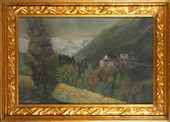Klemm, Walther: castle in the mountains. - photo 2