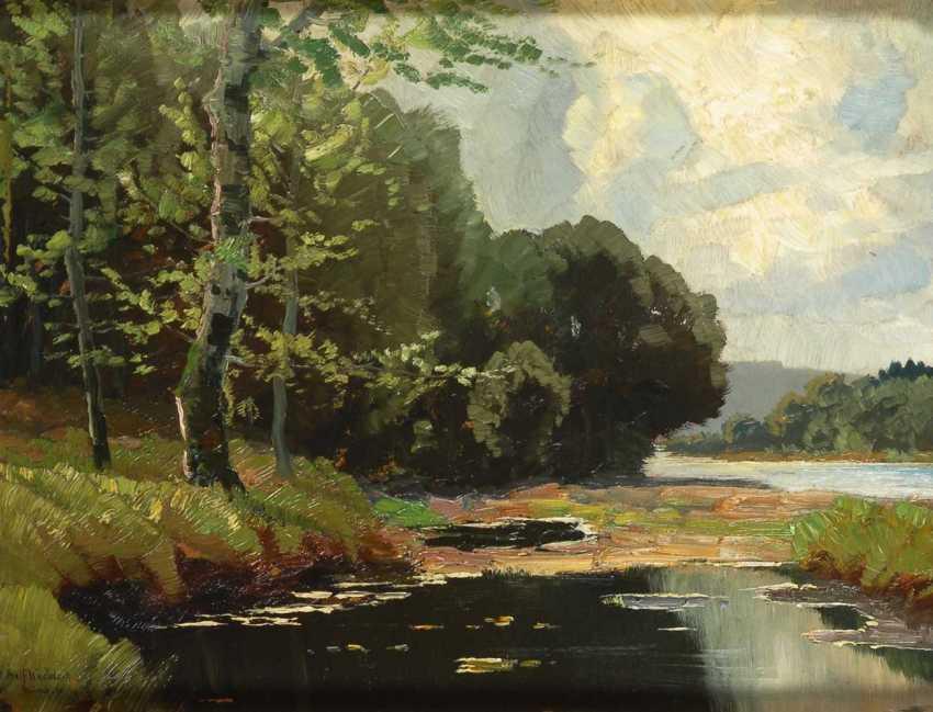 Knobloch, Josef, Rolf: The River Landscape. - photo 1