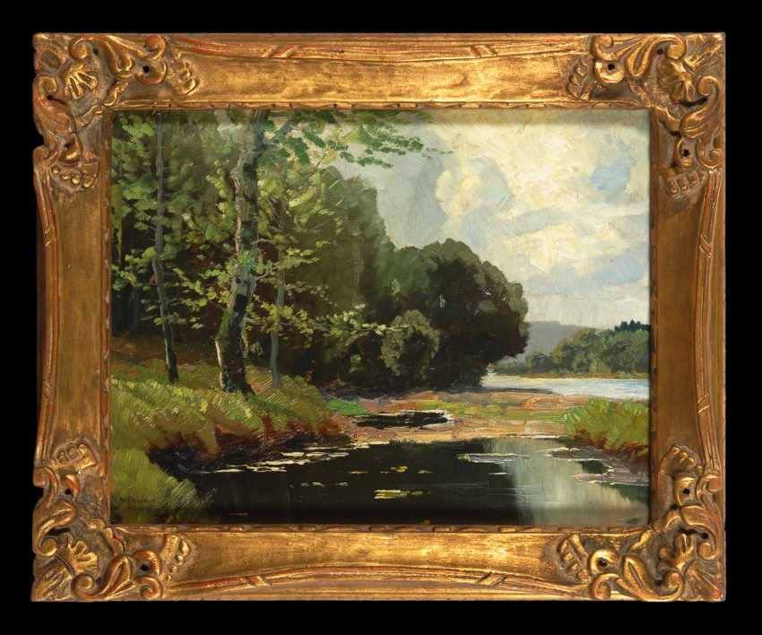 Knobloch, Josef, Rolf: The River Landscape. - photo 2