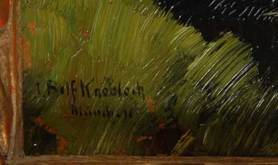 Knobloch, Josef, Rolf: The River Landscape. - photo 3