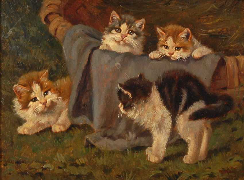 Kögl, Benno: Four Kittens. - photo 1