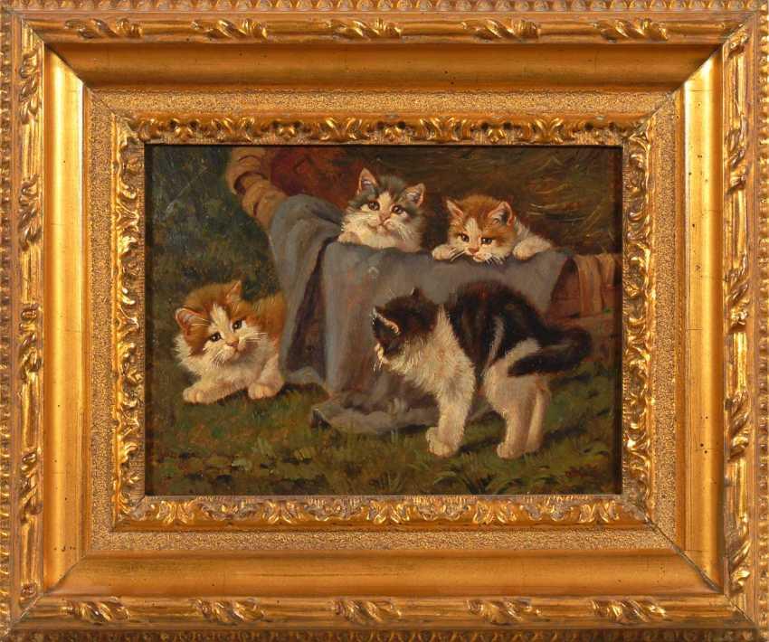 Kögl, Benno: Four Kittens. - photo 2