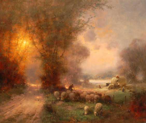 King, Günter: harvest landscape with shame - photo 1