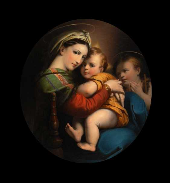 Copy to RaffaeLänge: Madonna della Sedia - photo 1