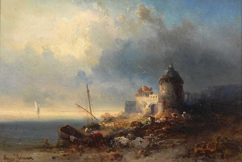 Krause, Francis Emil: Coastal Landscape. - photo 1