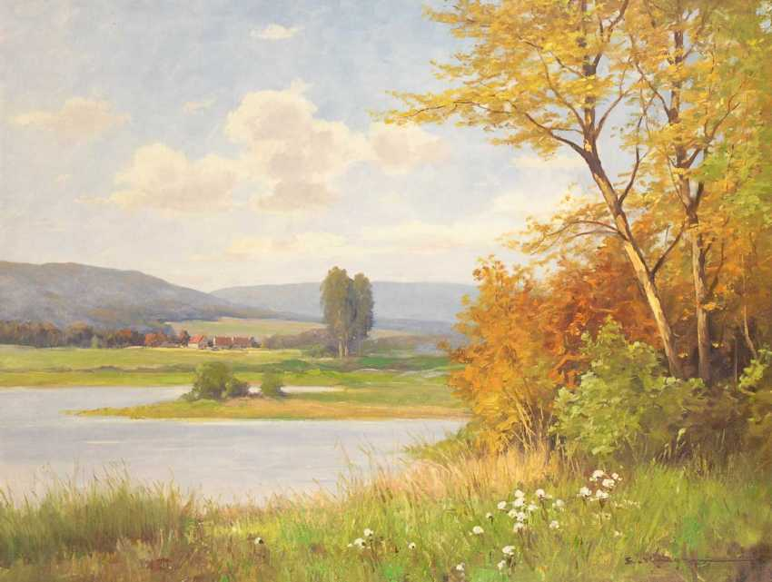 Krüger, Erich: In A Sunny Landscape. - photo 1