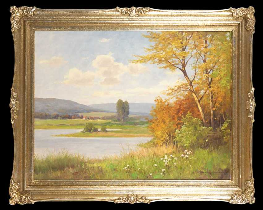Krüger, Erich: In A Sunny Landscape. - photo 3