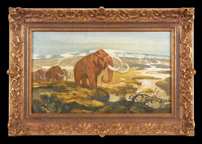 Kuhnert, Wilhelm attributed to: Mammuth - photo 2