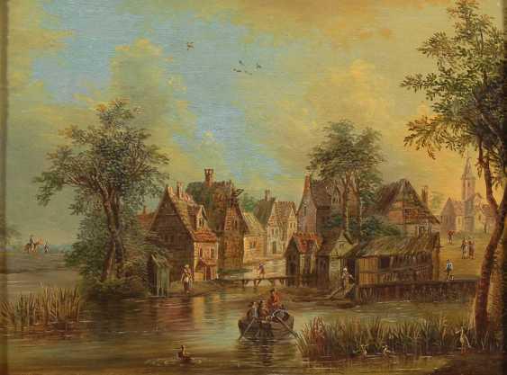 Landschaftsmaler 2. Hälfte 18. JahrhunderTiefe: Zwe - photo 2