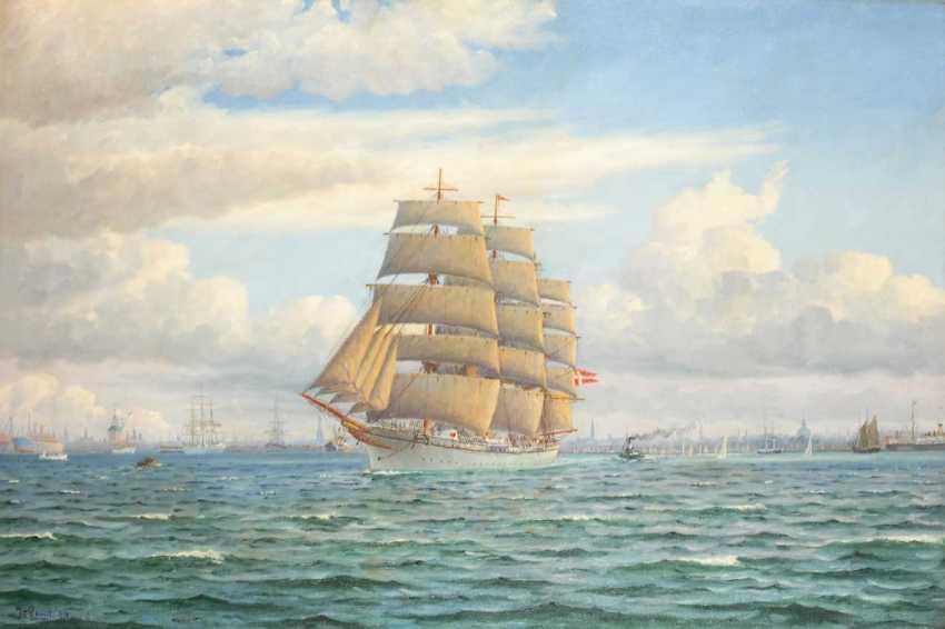 Landt, Frantz: vessels before Copenhagen. - photo 1