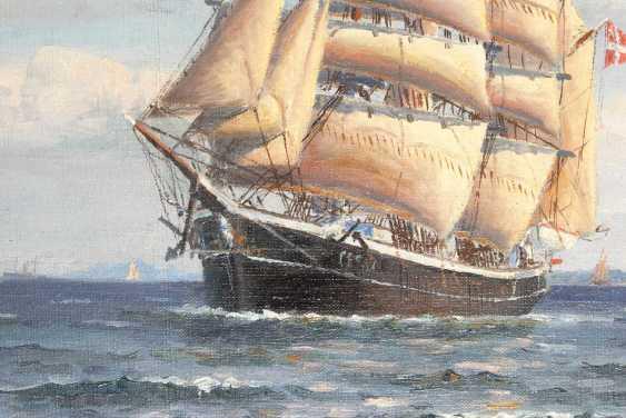 Landt, Frantz: ships in front of Kronborg. - photo 2