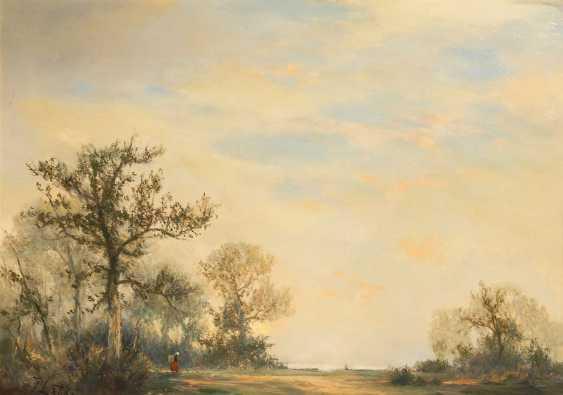Lattke, Fritz: Wide Landscape. - photo 1