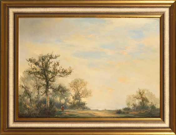 Lattke, Fritz: Wide Landscape. - photo 2