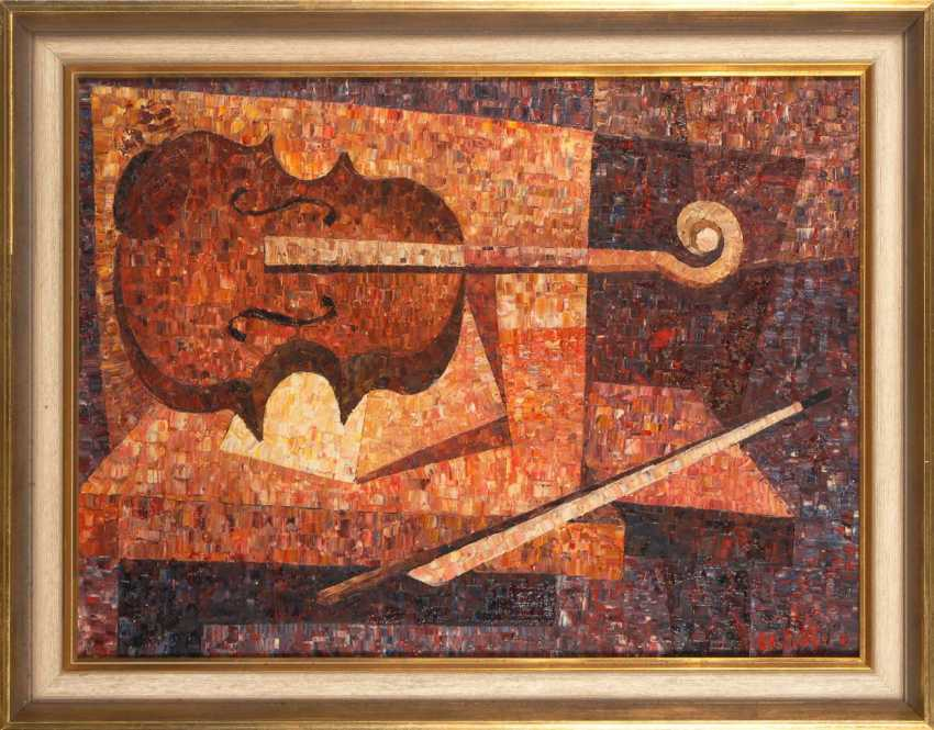 Maotto: still life with violin. - photo 2