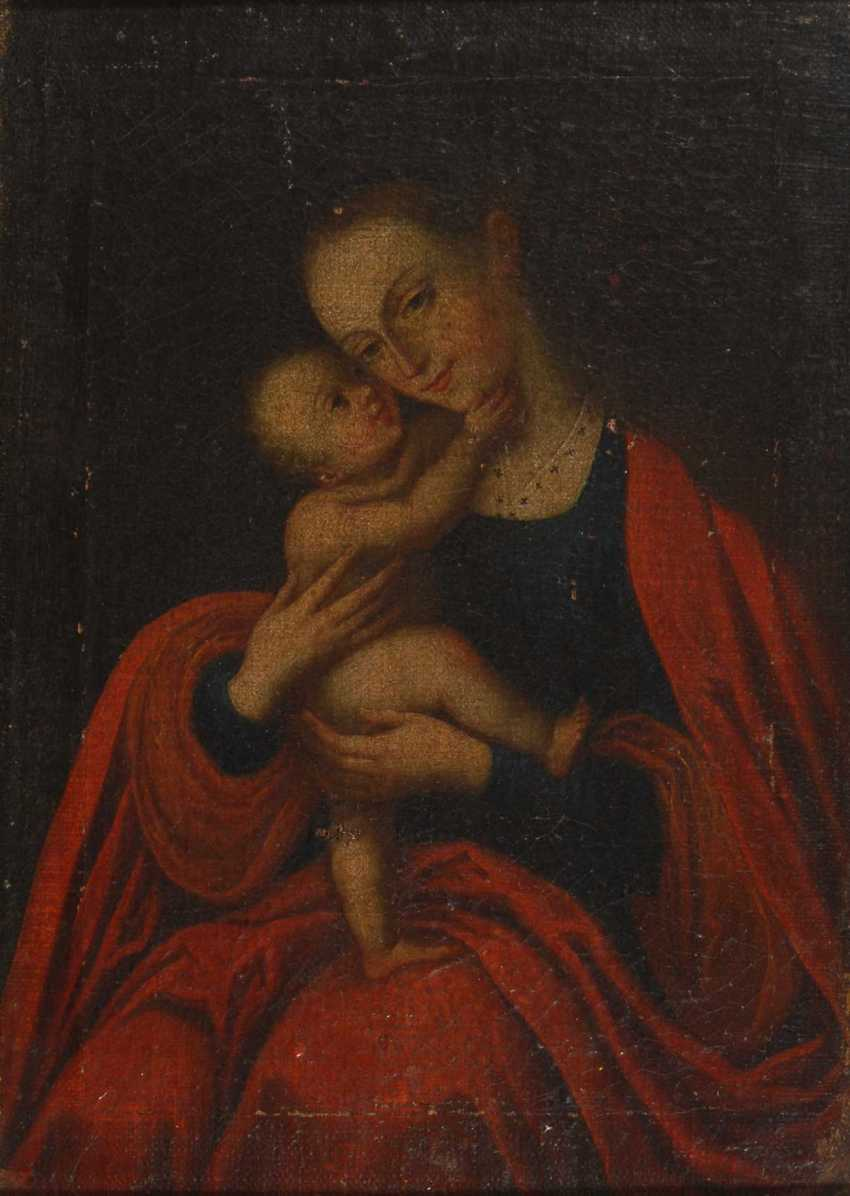 Mary with the child. - photo 1